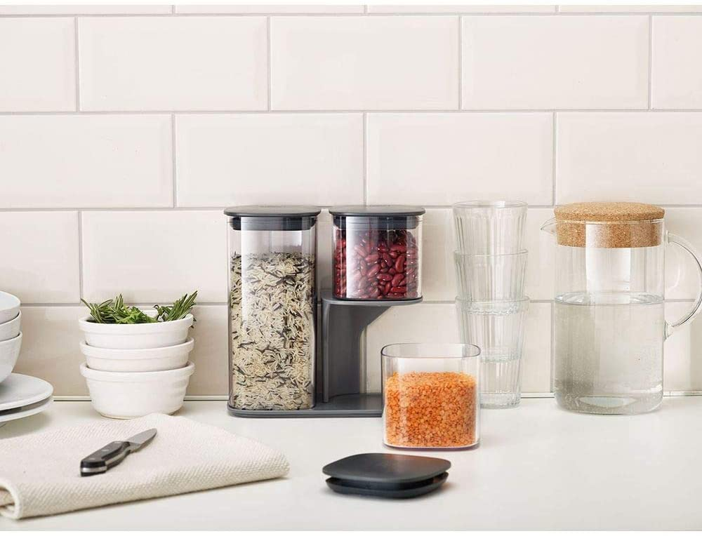 Set 3 Hộp Đựng Đồ Khô JOSEPH 98467 giúp bảo quản thực phẩm và tiết kiệm không gian cho nhà bếp