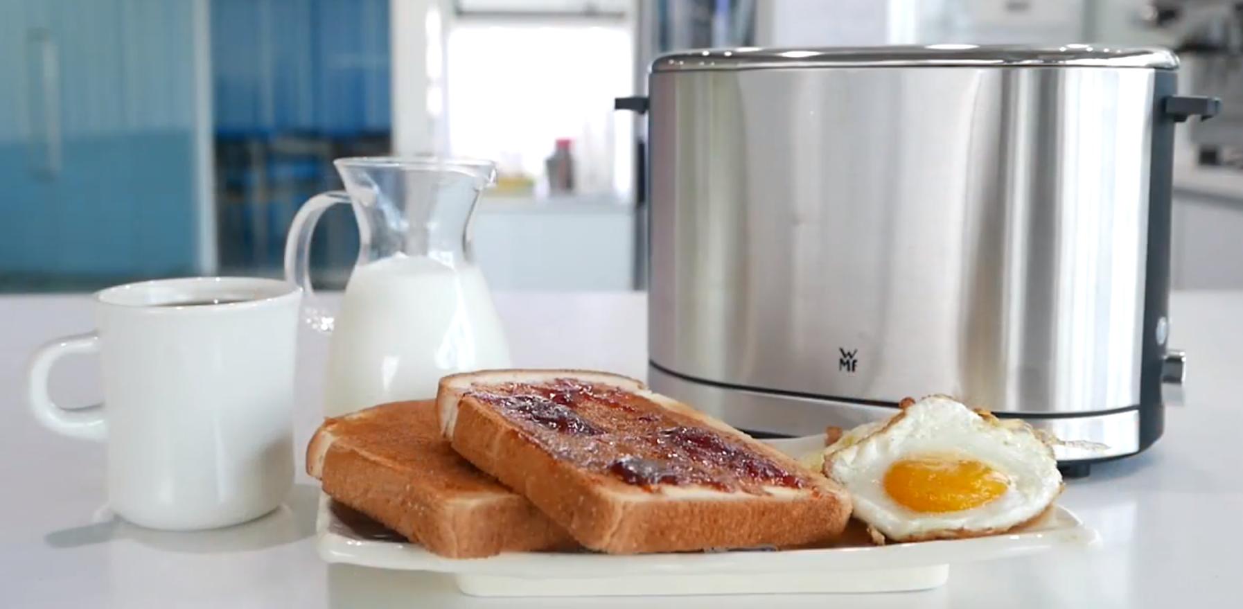Sở hữu ngay một bữa sáng dinh dưỡng chỉ sau 5 phút với Máy nướng Bánh Mì WMF Lono Toaster