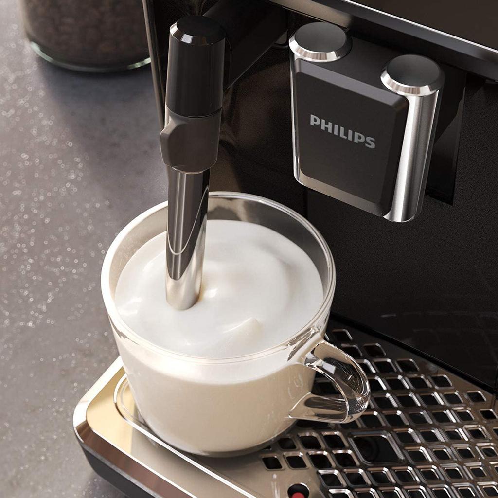 Vòi đánh sữa cổ điển cho phép bạn dễ dàng pha chế cappuccino hoặc latte macchiato.